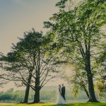 beautiful natural wedding photography at hensol castle south wales