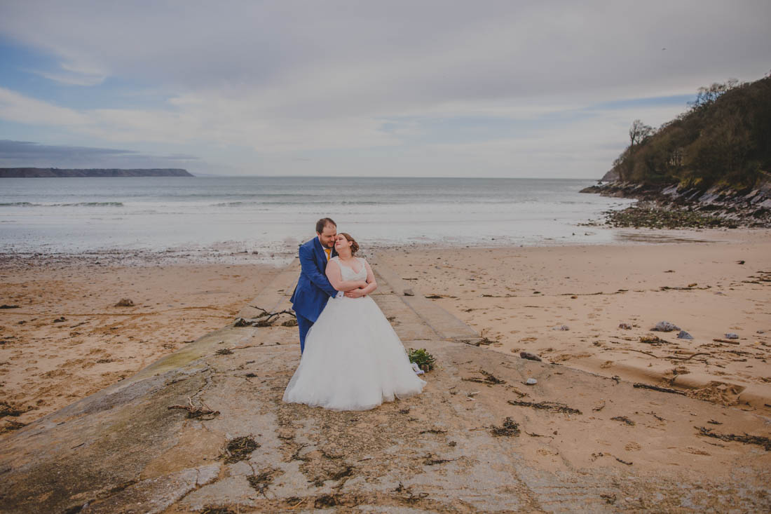 Oxwich bay gower wedding