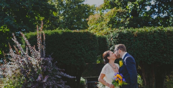 Mathern Palace Elopement Wedding