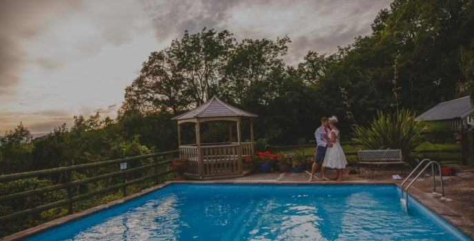 Caer Llan Monmouth Wedding Photographer