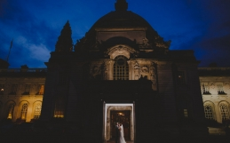 Cardiff City Hall Wedding Photography