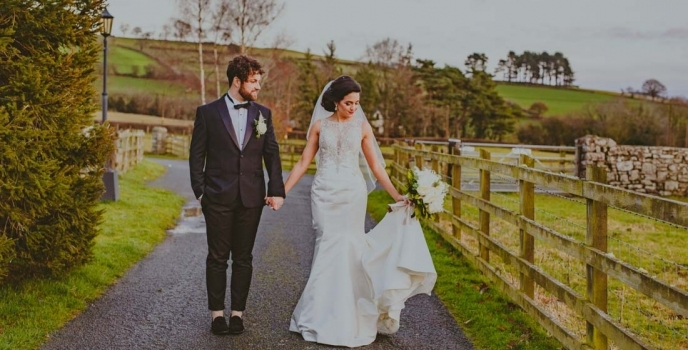 Christmas Wedding at Peterstone Court Brecon