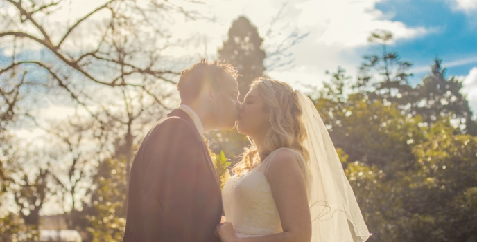 Sally and Alex get married at Clearwell Castle