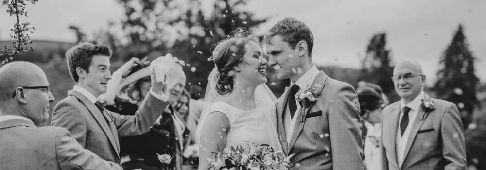 Llangoed Hall wedding photographer