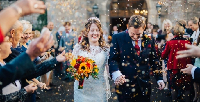 St Pierre Wedding Photographer chepstow autumn