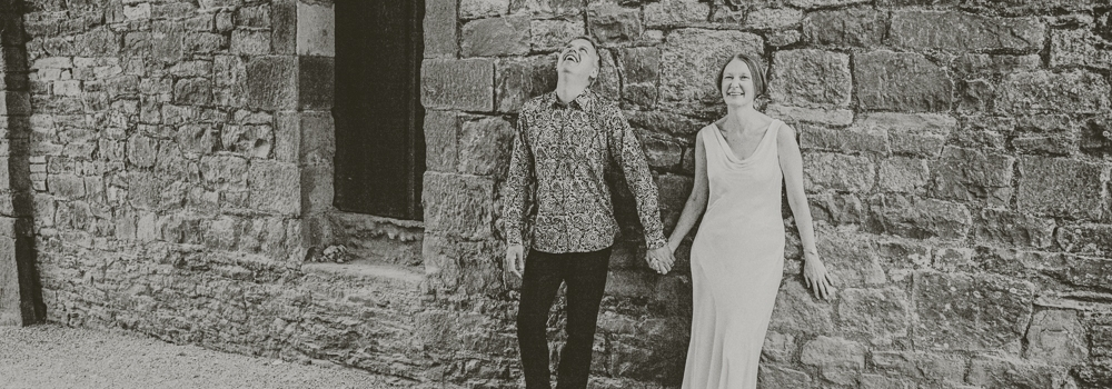 Fiona and Keron get married at Clearwell Castle