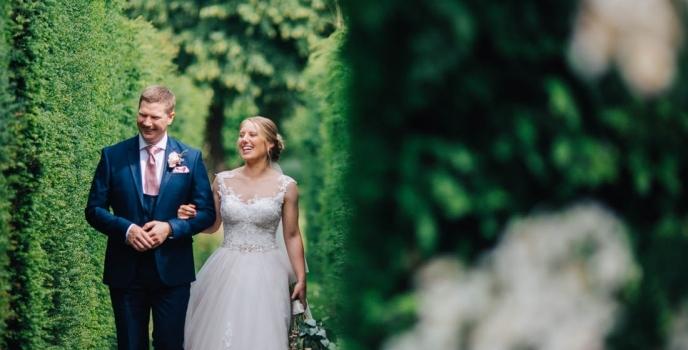 Great Fosters Surrey Wedding Photographer