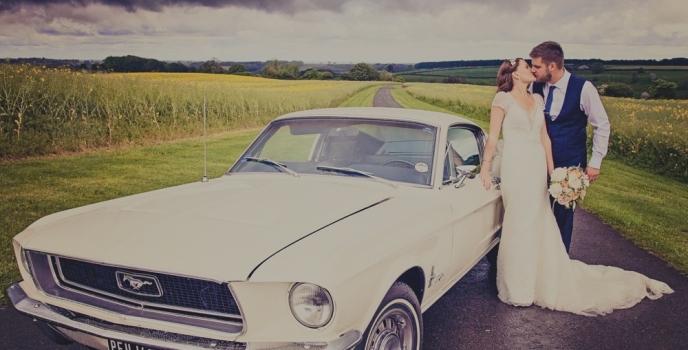The Wedding of Sandi & Dan at Kingscote Barn Tetbury