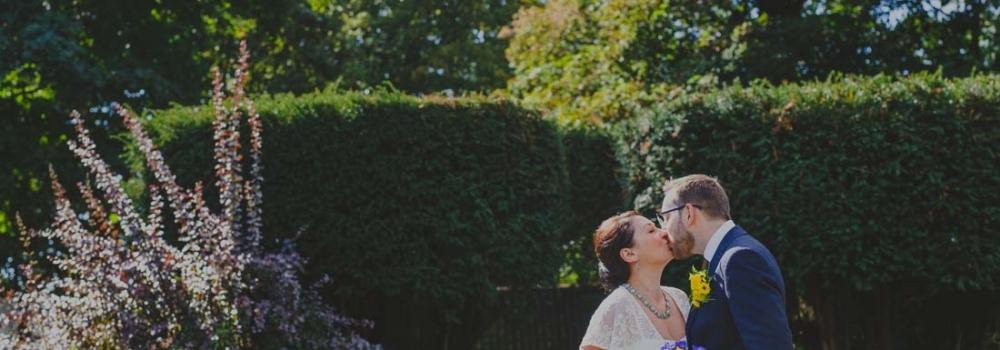 Mathern Palace Elopement Wedding