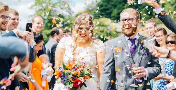 Caer Llan Monmouth Wedding Photographer