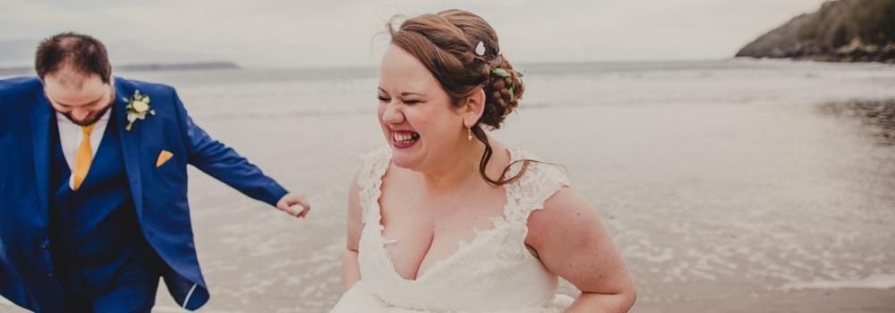 Oxwich Bay Wedding South Wales